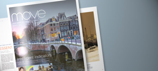 BCD Travel magazine design and print